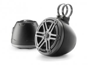 JL Audio- #93401 VeX M3 6.5inch Enclosed Coaxial Speaker System, Sport Titanium Black Gun Metal