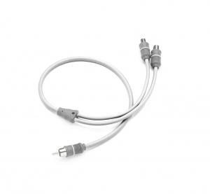 Clarion - #92799 Marine Audio Y-Adaptor 1 Male to 2 Female