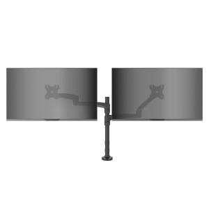 KANTO - Desktop Mount - Dual Arm - Black