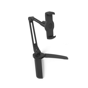 KANTO - Device Stand - Dual Arm with Folding Legs - Black