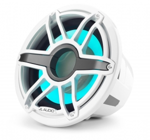 JL Audio 12-inch (300 mm) Marine Subwoofer Driver with Transflective™ LED Lighting