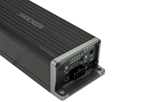 KICKER - KEY200.4 4x50w 4-Ch Full-Range Smart Amp w Start/Stop capability