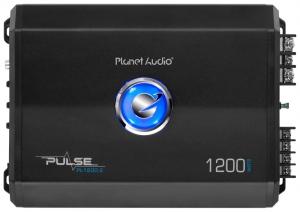 PLANET - Pulse 1200w Max Class 2 Channel Bridgeable Amp ( 600W x 2 )