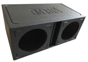 ATREND - 10in Dual Vented Divided Chamber Rugged Sprayliner Enclosure