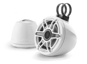 JL Audio - #93410 VeX M6 6.5inch Enclosed Coaxial Speaker System, Sport White White