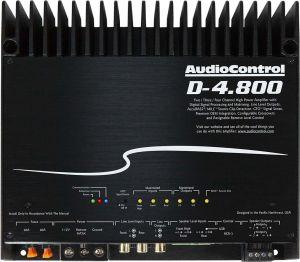 Audio Control D-4.800 high-power 4 channel dsp matrix amplifier with accubass®