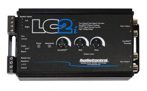 Audio Control LC2i 2 channel line out converter with accubass