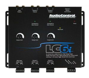 Audio Control LC6i-BLACK 6 channel line out converter