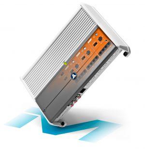 JL - #98625 24 Volt Marine 6-Channel 6x100 Watt Amplifier