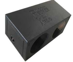 """ATREND - 12"""" Dual Sealed  Enclosure with Rugged Coat Sprayliner"""