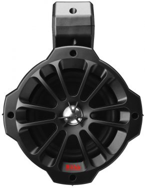 BOSS - 6.5inch x (2) 2-Way Amplified Marine Grade, Roll Cage/Waketower Speaker Pods, Features BT