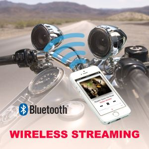 BOSS - ATV Bluetooth 2-Speaker System with 2 Channel Amp