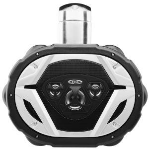 BOSS - 6x9 4 Way Marine Waketower Speaker 550 Watts Black