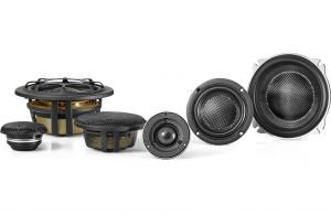 """""""MOREL - ELATE CARBON PRO 53A ACTIVE (3-Way Component) uses 5.25in Woofers, 160 WRMS - NO Xovers"""""""