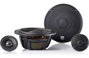 """""""MOREL - ELATE CARBON PRO 62A ACTIVE (2-Way Component) uses 6.5in Woofers, 180 WRMS - NO Xovers"""""""