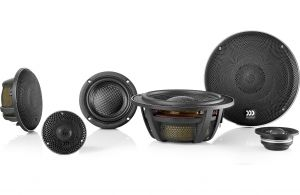 """""""MOREL - ELATE CARBON PRO 63A ACTIVE (3-Way Component) uses 6.5in Woofers, 180 WRMS - NO Xovers"""""""