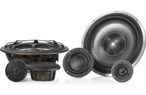 """""""MOREL - ELATE CARBON PRO 93A ACTIVE (3-Way Component) uses 9in Woofers, 200 WRMS - NO Xovers"""""""