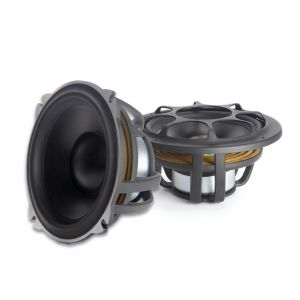 """""""MOREL - HYBRID MW5MKII (midbass only) 5.25in Woofers, 4 Ohm (pair)"""""""