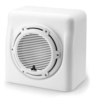 JL Audio Single M6-10W, Matte White Fiberglass Sealed Enclosure