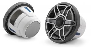 JL Audio M6-880X-S-Gm-Ti Marine Coaxial Speakers