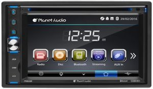 Planet Audio Double-DIN, DVD Player 6.2""